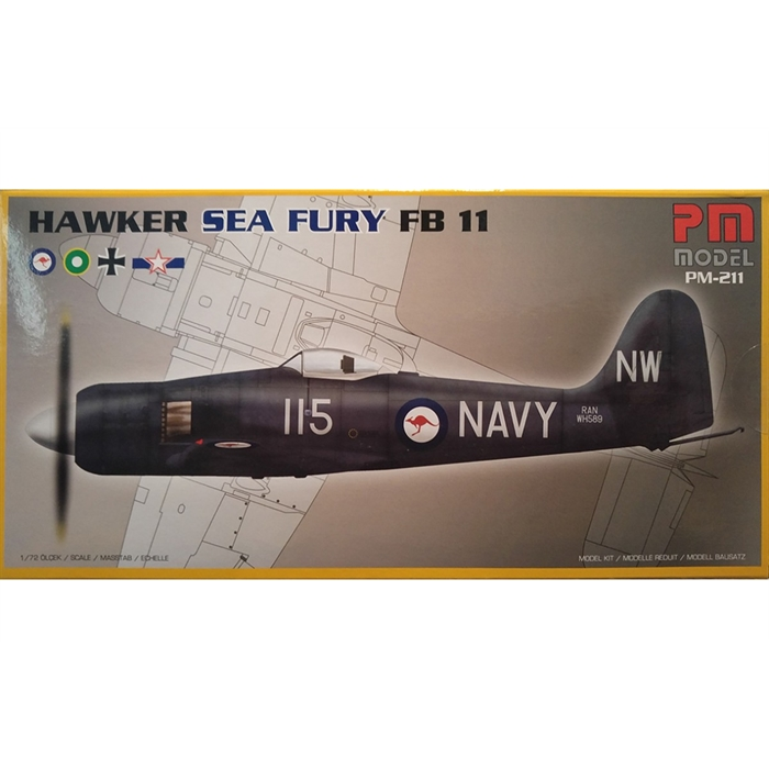 MAKET UÇAK PM-211 SEA FURY